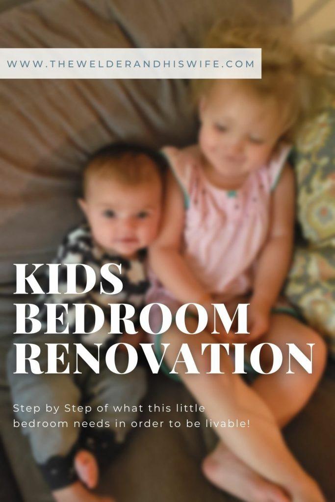 Kids bedroom renovation has begun