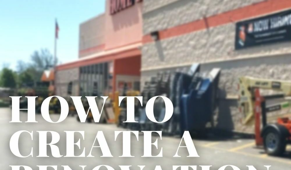 Creating a Renovation Budget