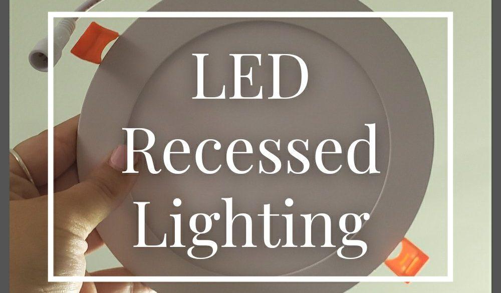 LED Recessed Lighting Installation